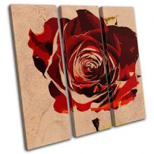 Abstract Rose Love Floral - 13-0800(00B)-TR11-LO